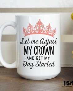 You know it…. Queen B! This Hey Shabby Me mug was made for the pageant girl. It's a perfect piece of motivation to start your day with a hot cup of coffee or tea. Send it to a friend so that they can enjoy the fun too! Shop this and other quotable coffee or tea mugs at ThePageantPlanet.com. It's a perfect gift idea or to even treat yourself!