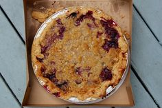 Mixed Berry Pie from
