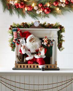 Karen Didion Originals Night Before Christmas Santa