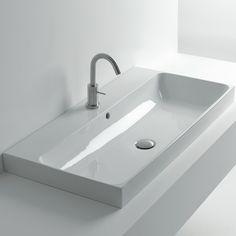 Whitestone Waschbecken   Normal   60cm   80cm   100 cm   Design Romano Adolini