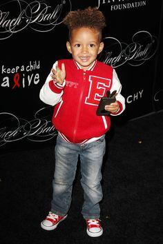 Egypt Daoud Dean - Son Of Alicia Keys - Cute Celebrity Kids: Adorable Family Snaps