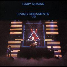 Gary Numan - Living Ornaments x Gary Numan, Music Album Covers, Music Icon, Rock Style, New Wave, Live Life, Good Music, Ornaments, Punk Art
