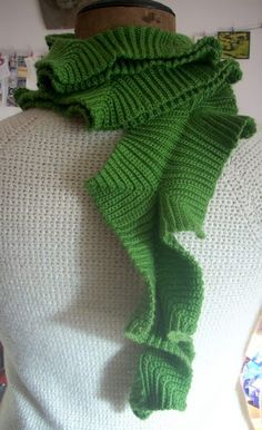 scarf - Ill have to try this sometime!
