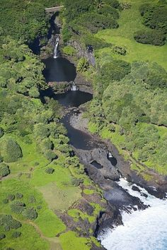 Seven Sacred Pools, Maui, Hawaii. Also known as Oheo Gulch.