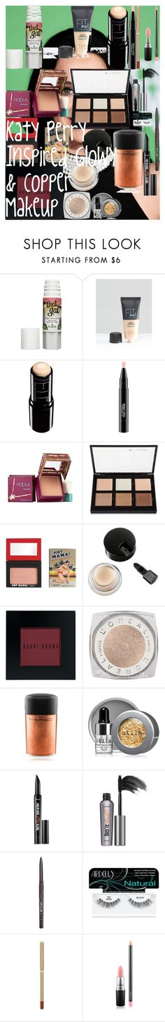 """""""Katy Perry Inspired Glowy & Copper Makeup"""" by oroartye-1 on Polyvore featuring beauty, Benefit, Maybelline, MAC Cosmetics, Hoola, Anastasia Beverly Hills, TheBalm, Revlon, Bobbi Brown Cosmetics and L'Oréal Paris"""