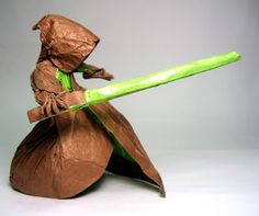 Jedi modified from Satoshi Kamiya's Wizard. Folded by/© Phillip West.