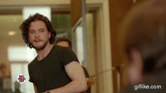 Rose Leslie and Kit Harington wink - GOT musical
