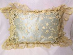 antique boudoir lace pillows - - Yahoo Image Search Results