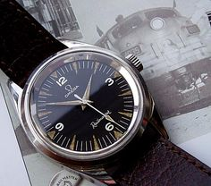 Watches Ideas Omega Railmaster Discovred by : Todd Snyder Big Watches, Sport Watches, Cool Watches, Watches For Men, Omega Railmaster, Cool Trainers, Omega Planet Ocean, Gentleman Watch, Vintage Omega