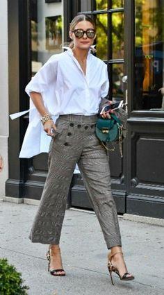 olivia palermo, mosaic, look of the day, Shirt – Carolina Herrera Jacket and…