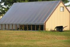 Passive solar heat, Thermal barrel wall greenhouse design from Bradford Research Center Wooden Greenhouses, Green House Design, Small Luxury Cars, British Garden, Greenhouse Plans, Indoor Greenhouse, Passive Solar, Water Conservation, Greenhouses