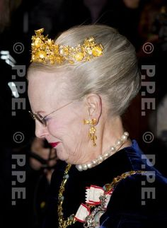 Naasut Tiara worn by HM Queen Margrethe of Denmark