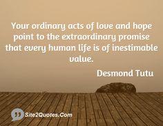 Inspirational Quotes - Desmond Tutu