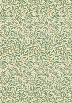 tapeter sovrum william morris willow boughs green William Morris Tapet, William Morris Wallpaper, Morris Wallpapers, Retro Wallpaper, Home Wallpaper, Fabric Wallpaper, Beddinge, Design Textile, Tree Tattoo Designs