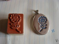 Beads Beads Beads!: Tutorial - Stamped Crystal Clay with Pigment