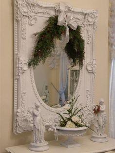Beautiful shabby chic mirror