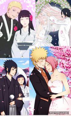 Weddings - NaruHina, SasuHina, NaruSaku, SasuSaku ❤️❤️❤️