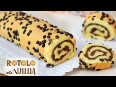 ROTOLO SOFFICE ALLA NUTELLA - RICETTA FACILE | Fatto in casa da Benedetta Nutella Rolls, Nutella Fudge, Nutella Crepes, Nutella Cookies, Mug Dessert Recipes, Baking Recipes, Desserts, Honey Beer Bread, 3 Ingredient Nutella Brownies