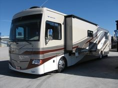 The Discovery 40G. One of the most popular bunk model diesels on the market today.  http://www.buyandsellrvs.com/details.cfm?adv_id=1058716_token=C80331EC-3CCE-41C8-8BFA-C3D1793A6B68