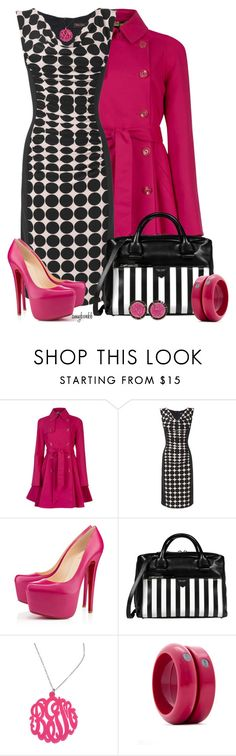 """Phase 8 Dress 2"" by amybwebb ❤ liked on Polyvore featuring Ted Baker, Phase Eight, Christian Louboutin, Marc Jacobs, Initial Reaction, MANGO and Kimberly McDonald"