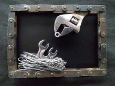 Comforting enabled awesome metal welding projects pop over to these guys Welding Art Projects, Metal Art Projects, Metal Crafts, Diy Projects, Project Ideas, Blacksmith Projects, Metal Welding, Diy Welding, Welding Tools