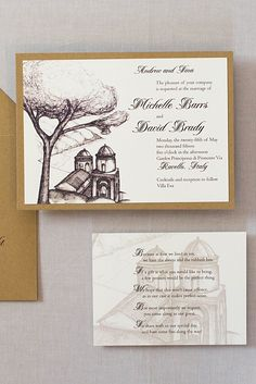 These Ravello Italy wedding invitations are stunning. We designed the invitations with a sketch of Church of Annunziata on the Amalfi Coast. Brown Wedding Invitations, Destination Wedding Invitations, Map Invitation, Custom Invitations, Ravello Italy, Amalfi Coast Wedding, Italy Wedding, Sketch, Names
