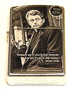 RARE-ZIPPO-LIGHTER- JAMES- DEAN