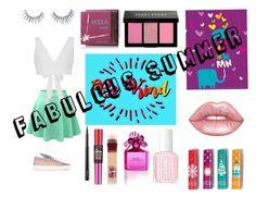 """Fabulous summer"" by kawaiitumblr on Polyvore featuring moda, LE3NO, Kalita, Minna Parikka, Bobbi Brown Cosmetics, Hoola, Lime Crime, Avon, Essie y Marc Jacobs"