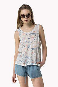 bedrucktes tanktop ist der Höhepunkt der Saison: aus der neuesten Tommy Hilfiger T-Shirts Kollektion für Damen. Kostenlose Lieferung & Retouren.