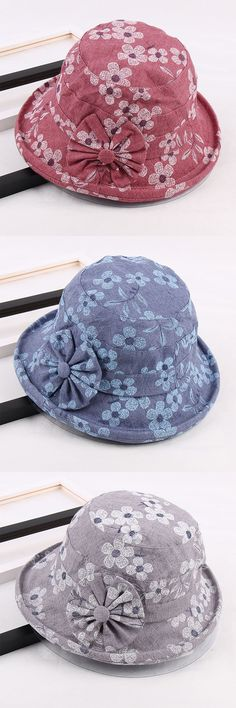 Women Cotton Anti-UV Protection Bucket Hat Casual Travel Wide Brim Sunshade Fisherman  Hat is hot sale on Newchic. e61e5a73284c