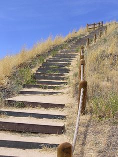 stairs to the beach....