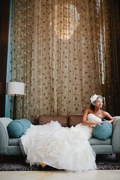 The bride, Lynae, looking fabulous in Vera Wang.  Photo by kristyn hogan photography.