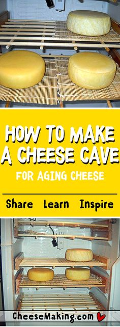 """How to Make a Cheese """"Cave"""""""