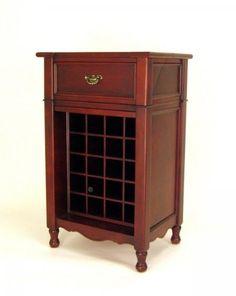 $391.00-$582.77 Wayborn Furniture 5553 Cabinet Wine Rack, Brown - Finish/Color:Brown Wine Cabinet http://www.amazon.com/dp/B0040ZKM54/?tag=pin2wine-20