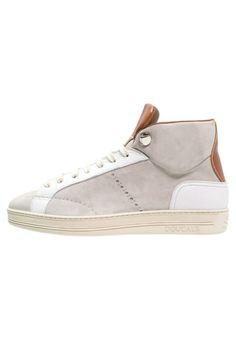 #Doucal´s #Sneaker #high #ghiaccio/bianco/cognac für #Herren -