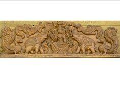 Single Door Design, Wooden Front Door Design, Wooden Front Doors, Temple Design For Home, Indian Home Design, Tv Wall Design, House Design, Pillar Design, Indian Doors