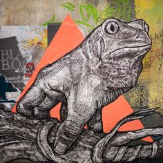 Street Art – The phantasmagorical animals by  Alexis Diaz