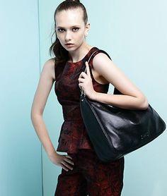 DUDU Ninna Hobo Bag Black