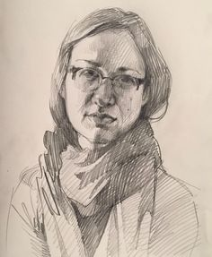 Drawing Portrait self-portrait by Sarah Sedwick Life Drawing, Figure Drawing, Drawing Sketches, Pencil Drawings, Painting & Drawing, Art Drawings, Sketching, Self Portrait Drawing, Portrait Sketches