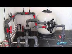 Cómo funciona una depuradora de piscina (Parte 1 de 2) - YouTube Ideas Para, Swimming Pools, Make It Yourself, Youtube, Vw, Bathtub, Construction, Small Yard Pools, Pool Installation