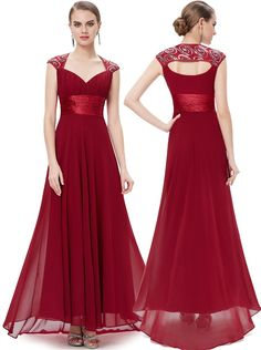 Rochie lunga Red Sequins
