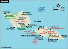 samoa islands | samoa is dominated by the two large islands of upolu and savaii with a ...