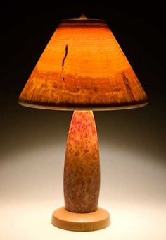 Pin by David Heiser on Turned Wood - Lamps | Pinterest ... Wood Lathe Lamp Projects