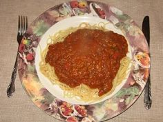 Sauce spaghetti de Mama Mia