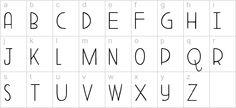 DK Aderyn  - a free font!