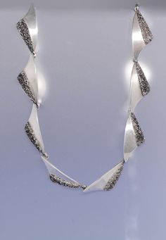 "Brodrene Bjorklund ""Peak' sterling silver suite by KoruJewelleryCo on Etsy"