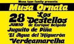 Musa Ornata Font