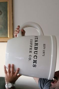 My kind of cup of joe! A 5 GALLON starbucks cup