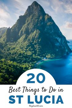 Things to Do in Saint Lucia | Gros Piton and Petit Piton are the crown jewels of Saint Lucia and create one of the most beautiful scenes in the Caribbean. They are just one of many things to do in St. Lucia. This guide includes all the best things to do in St. Lucia. | The Planet D #StLucia #SaintLucia #Caribbean | places to visit in st lucia | activities in st lucia Beach Travel, Beach Trip, Vacation Trips, Caribbean Resort, Caribbean Vacations, Latin America, North America, Top All Inclusive Resorts, Saint Lucia