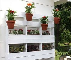Implement Nature In your House #plants&flowers #pallet #nature